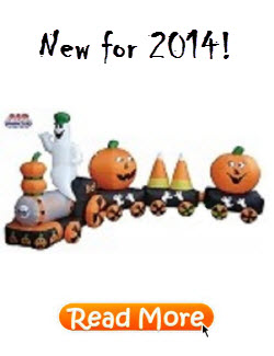 Inflatable Halloween Train New for 2014
