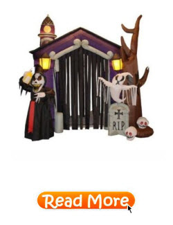Inflatable Haunted House Castle Arch