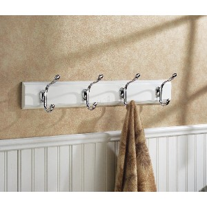 Bathroom Towel Rack With Hooks Home Design