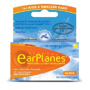 Kids Earplane Ear Plugs For Airplane Travel