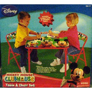 Kids Only Disneys Mickey and Friends Activity Table Set