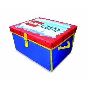 LEGO CITY ZipBin Toy Box