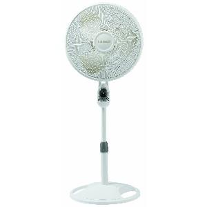 Lasko 1646 16-Inch Remote Control Stand Fan White