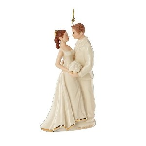 Lenox 2012 Always and Forever Bride and Groom Ornament