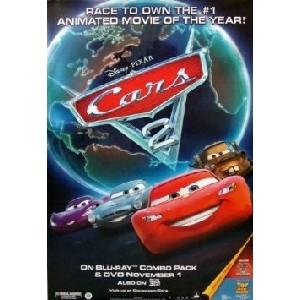 Lightning McQueen Cars 2 Movie Poster