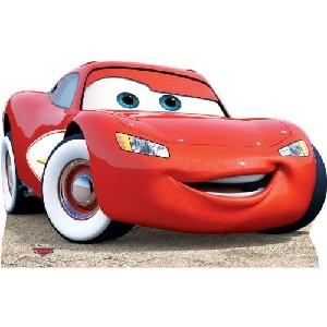 Large Lightning McQueen Standup Poster
