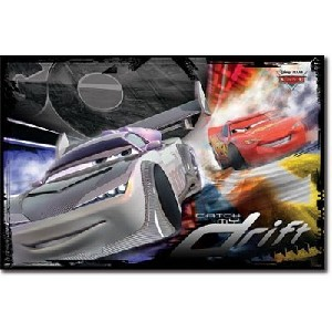 Lightning McQueen Tokyo Drift Poster