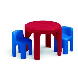Little Tikes Red and Blue Table and Chairs Set