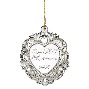 Marquis by Waterford 2012 Our 1st Christmas Ornament