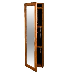 Wall-Mount Jewelry Mirror Armoire