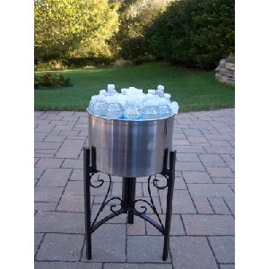 stainless steel party tub cooler
