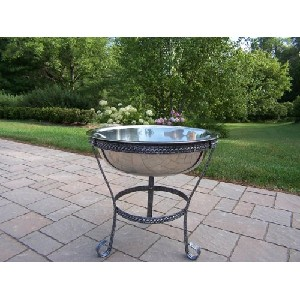 Stainless Steel Standing Bucket or Fire Pit