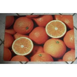 Oranges! Oranges! 18 x 27 Memory Foam Kitchen Mat