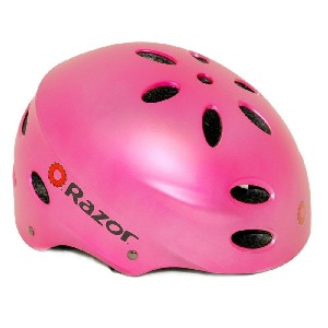 Pink Razor Aggressive Youth Multi sport Helmet