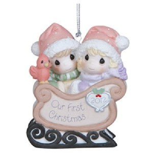 Precious Moments Our First Christmas Together 2012 Figurine
