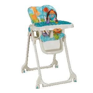 Fisher-Price Precious Planet Sky Blue Folding Wheeled High Chair