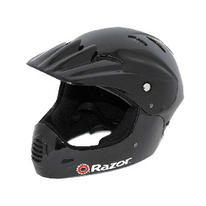 Razor Black Full Face Helmet