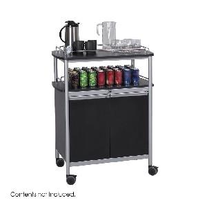 safco mobile beverage cart