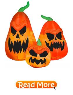 Scary Jack O Lantern Airblown Pumpkins