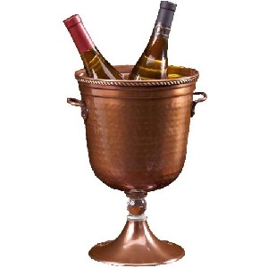 Shastra 13-Inch Copper Champagne Cooler