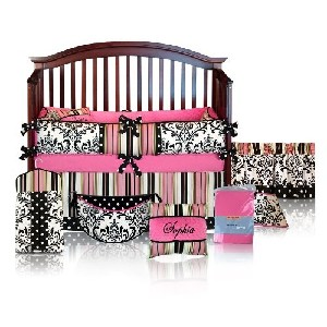 Sophia 5pc Crib Bedding Set