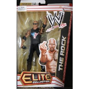 THE ROCK ELITE 14 WWE TOY WRESTLING ACTION FIGURE