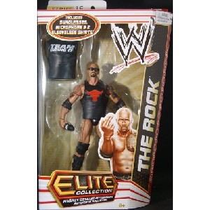 THE ROCK ELITE 16 TOY WRESTLING ACTION FIGURE