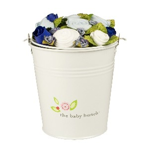 The Baby Bunch Large Bucket Blue 0 to 6 Months