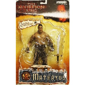 The Scorpion King Mathayus Dwayne Johnson The Rock Action Figure