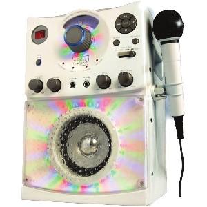 The Singing Machine SML-385W Disco Light Karaoke System