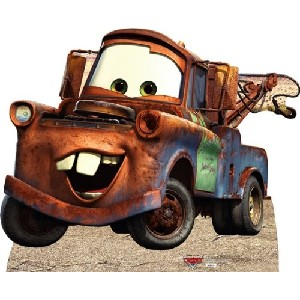 Tow Mater Stand Up Cardboard Poster