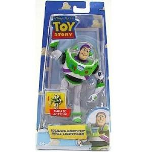 Toy Story Action Figure Karate Choppin Buzz Lightyear'