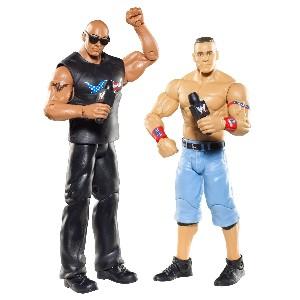 WWE Battle Pack John Cena vs The Rock Figure 2 Pack Series 15