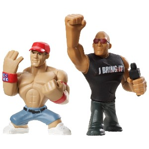 Rumblers The Rock and John Cena Figure 2 Pack
