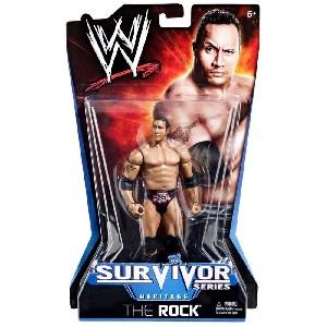 The Rock 1998 Survivor Series Figure