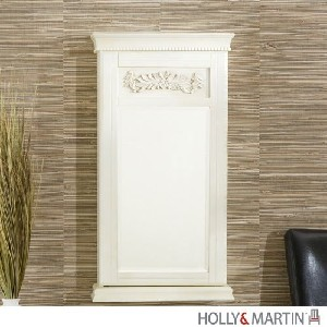 Holly & Martin? Juliette Wall-Mount Jewelry Armoire-Antique White