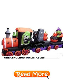 Witch and Skeleton Train