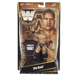 WWE Legends Rock Collector Figure