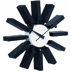 Black ZUO Smith Wall Clock