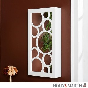 Holly & Martin? Zoey Wall-Mount Jewelry Mirror