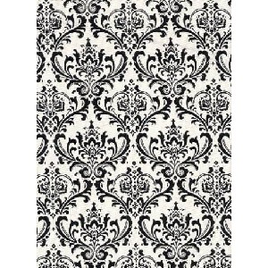 black and white pillow fabric 1